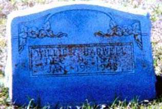 HARWELL, WILLIE F - Falls County, Texas | WILLIE F HARWELL - Texas Gravestone Photos