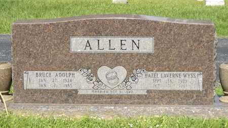 ALLEN, BRUCE ADOLPH - Franklin County, Texas | BRUCE ADOLPH ALLEN - Texas Gravestone Photos
