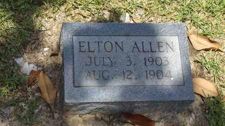 ALLEN, ELTON - Franklin County, Texas | ELTON ALLEN - Texas Gravestone Photos