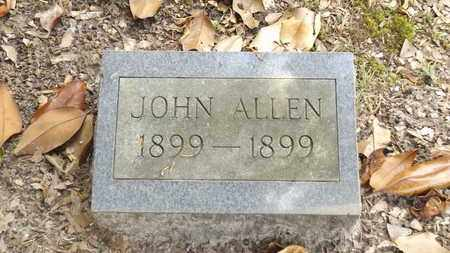 ALLEN, JOHN - Franklin County, Texas | JOHN ALLEN - Texas Gravestone Photos