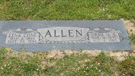 "ALLEN, ORBIE ""A A"" - Franklin County, Texas 