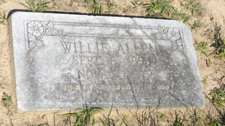 ALLEN, WILLIE MAE - Franklin County, Texas | WILLIE MAE ALLEN - Texas Gravestone Photos
