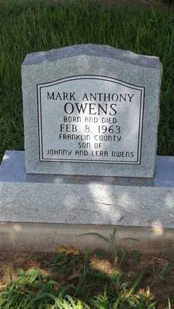 OWENS, MARK ANTHONY - Franklin County, Texas | MARK ANTHONY OWENS - Texas Gravestone Photos