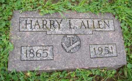 ALLEN, HARRY L - Galveston County, Texas | HARRY L ALLEN - Texas Gravestone Photos