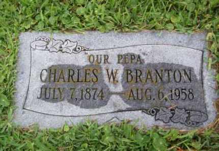 BRANTON, CHARLES WILLIAM - Galveston County, Texas | CHARLES WILLIAM BRANTON - Texas Gravestone Photos