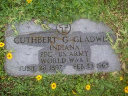GLADWIN {VETERAN  WWI}, CUTHBERT G. - Galveston County, Texas | CUTHBERT G. GLADWIN {VETERAN  WWI} - Texas Gravestone Photos