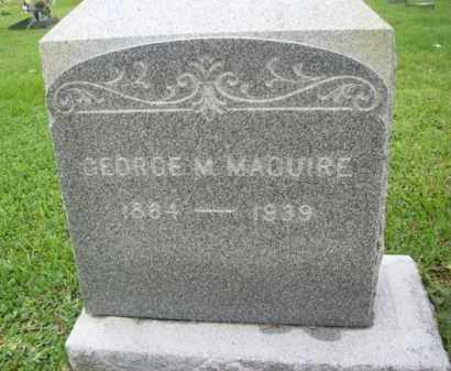 MAGUIRE, GEORGE MATTHEW - Galveston County, Texas | GEORGE MATTHEW MAGUIRE - Texas Gravestone Photos