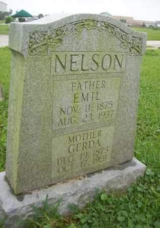 NELSON, EMIL MARTIN - Galveston County, Texas | EMIL MARTIN NELSON - Texas Gravestone Photos
