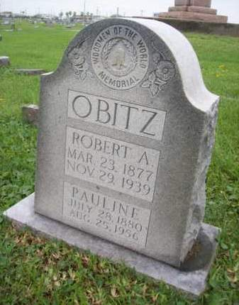 EGGERT OBITZ, PAULINE - Galveston County, Texas | PAULINE EGGERT OBITZ - Texas Gravestone Photos