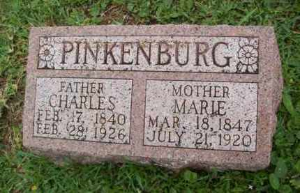 PINKENBURG, CHARLES - Galveston County, Texas | CHARLES PINKENBURG - Texas Gravestone Photos