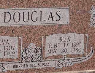DOUGLAS, REX - Grayson County, Texas | REX DOUGLAS - Texas Gravestone Photos
