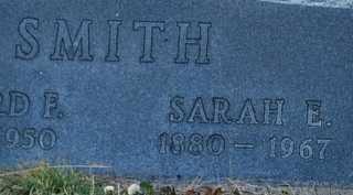 MOORE SMITH, SARAH ELLA - Grayson County, Texas | SARAH ELLA MOORE SMITH - Texas Gravestone Photos