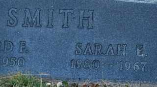 MOORE SMITH, SARAH ELLA - Grayson County, Texas | SARAH ELLA MOORE SMITH - Texas Gravestone Photos