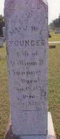 YOUNGER,, JULIA WESTON LEWIS - Grayson County, Texas | JULIA WESTON LEWIS YOUNGER, - Texas Gravestone Photos