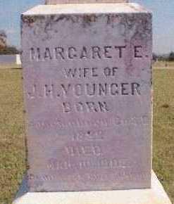 STONE YOUNGER, MARGARET E. - Grayson County, Texas | MARGARET E. STONE YOUNGER - Texas Gravestone Photos