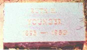 HARRIS YOUNGER, RUTH - Grayson County, Texas | RUTH HARRIS YOUNGER - Texas Gravestone Photos