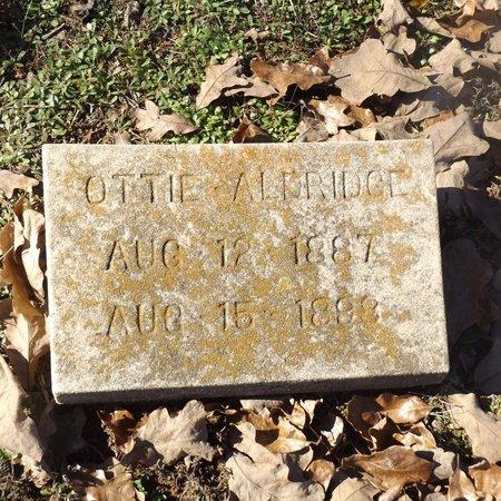 ALDRIDGE, OTTIE - Gregg County, Texas | OTTIE ALDRIDGE - Texas Gravestone Photos