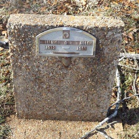 ALLEN, WILLIAM GLENN - Gregg County, Texas   WILLIAM GLENN ALLEN - Texas Gravestone Photos