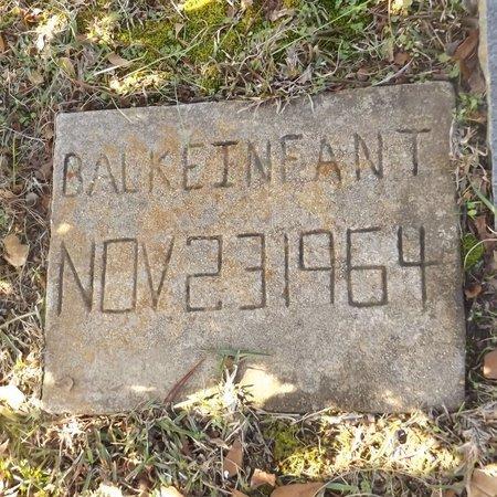 BALKE, INFANT - Gregg County, Texas | INFANT BALKE - Texas Gravestone Photos