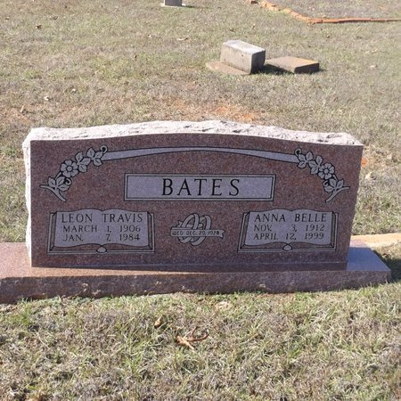 BATES, LEON TRAVIS - Gregg County, Texas | LEON TRAVIS BATES - Texas Gravestone Photos