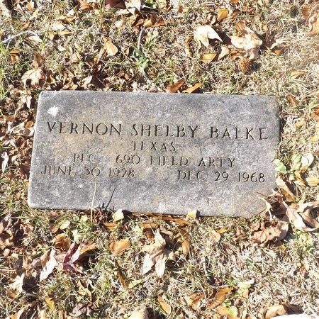 BELKE (VETERAN), VERNON SHELBY - Gregg County, Texas   VERNON SHELBY BELKE (VETERAN) - Texas Gravestone Photos