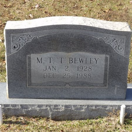 BEWLEY, MONROE THEDRAL - Gregg County, Texas   MONROE THEDRAL BEWLEY - Texas Gravestone Photos