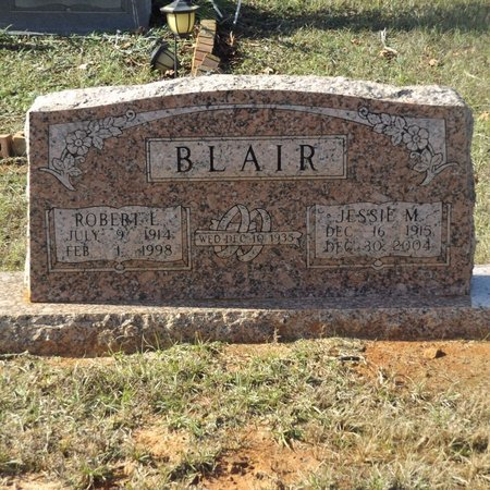 BLAIR, JESSIE M - Gregg County, Texas | JESSIE M BLAIR - Texas Gravestone Photos