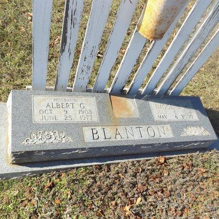 BLANTON, IMOGENE M - Gregg County, Texas | IMOGENE M BLANTON - Texas Gravestone Photos