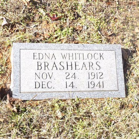 BRASHEARS, EDNA - Gregg County, Texas | EDNA BRASHEARS - Texas Gravestone Photos