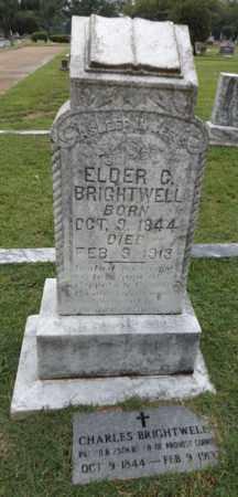 BRIGHTWELL (VETERAN), ELDER CHARLES - Gregg County, Texas   ELDER CHARLES BRIGHTWELL (VETERAN) - Texas Gravestone Photos