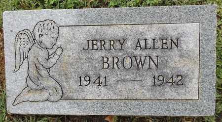 BROWN, JERRY ALLEN - Gregg County, Texas | JERRY ALLEN BROWN - Texas Gravestone Photos