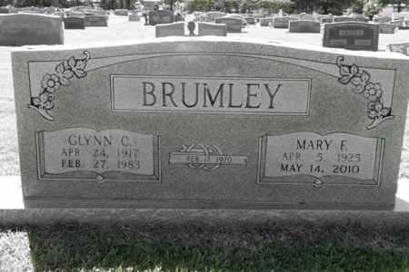BRUMLEY, MARY F - Gregg County, Texas | MARY F BRUMLEY - Texas Gravestone Photos