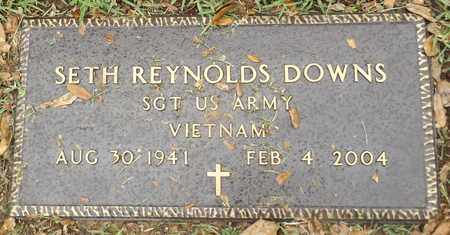 DOWNS (VETERAN VIET), SETH REYNOLDS - Gregg County, Texas | SETH REYNOLDS DOWNS (VETERAN VIET) - Texas Gravestone Photos