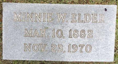 WILLOUGHBY ELDER, MINNIE - Gregg County, Texas | MINNIE WILLOUGHBY ELDER - Texas Gravestone Photos