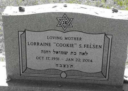 "SANOV FELSEN, LORRAINE ""COOKIE"" - Gregg County, Texas   LORRAINE ""COOKIE"" SANOV FELSEN - Texas Gravestone Photos"