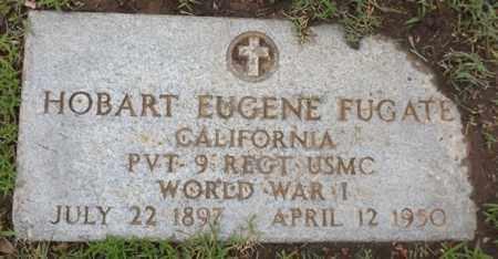 FUGATE (VETERAN WWI), HOBART EUGENE - Gregg County, Texas   HOBART EUGENE FUGATE (VETERAN WWI) - Texas Gravestone Photos