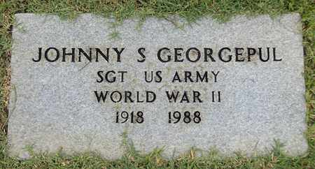 GEORGEPUL (VETERAN WWII), JOHNNY S. - Gregg County, Texas | JOHNNY S. GEORGEPUL (VETERAN WWII) - Texas Gravestone Photos