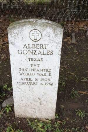GONZALES (VETERAN WWII), ALBERT - Gregg County, Texas | ALBERT GONZALES (VETERAN WWII) - Texas Gravestone Photos