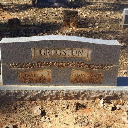 BRASHER GREGSTON, MARY JANE - Gregg County, Texas | MARY JANE BRASHER GREGSTON - Texas Gravestone Photos