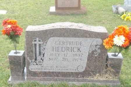HEDRICK, GERTRUDE - Gregg County, Texas | GERTRUDE HEDRICK - Texas Gravestone Photos