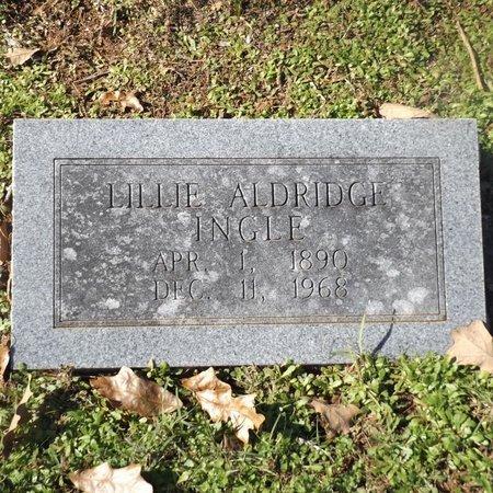 ALDRIDGE INGLE, LILLIE - Gregg County, Texas   LILLIE ALDRIDGE INGLE - Texas Gravestone Photos