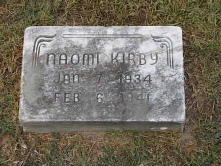 KIRBY, NAOMI - Gregg County, Texas | NAOMI KIRBY - Texas Gravestone Photos