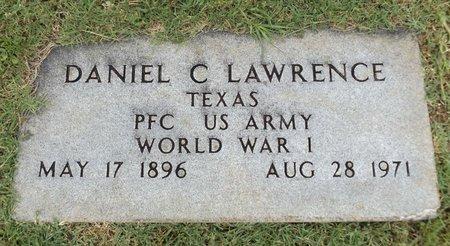 LAWRENCE (VETERAN WWI), DANIEL C - Gregg County, Texas   DANIEL C LAWRENCE (VETERAN WWI) - Texas Gravestone Photos