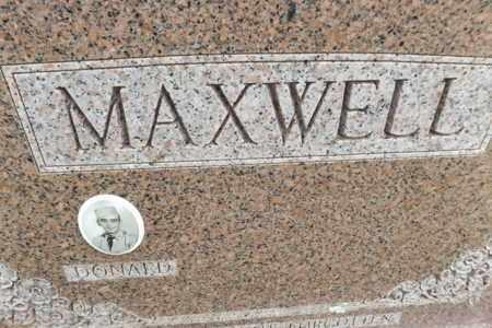 MAXWELL, DONALD G - Gregg County, Texas | DONALD G MAXWELL - Texas Gravestone Photos