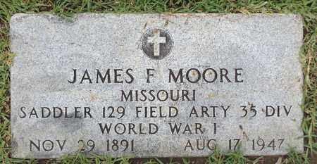 MOORE (VETERAN WWI), JAMES F - Gregg County, Texas | JAMES F MOORE (VETERAN WWI) - Texas Gravestone Photos