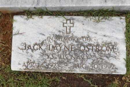 OSTROM (VETERAN WWII), JACK LAYNE - Gregg County, Texas | JACK LAYNE OSTROM (VETERAN WWII) - Texas Gravestone Photos