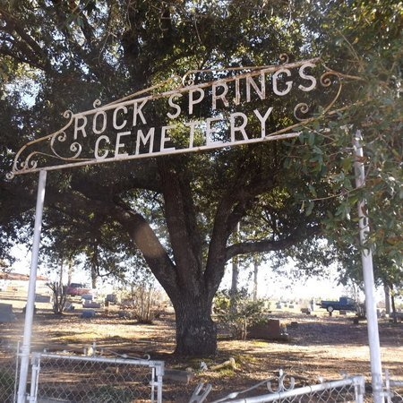 *ROCK SPRINGS CEMETERY, ENTERENCE - Gregg County, Texas | ENTERENCE *ROCK SPRINGS CEMETERY - Texas Gravestone Photos