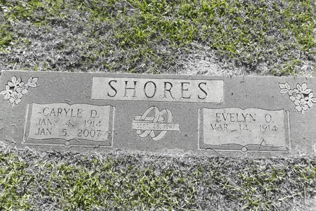 HORNER SHORES, EVELYN OLIN - Gregg County, Texas | EVELYN OLIN HORNER SHORES - Texas Gravestone Photos