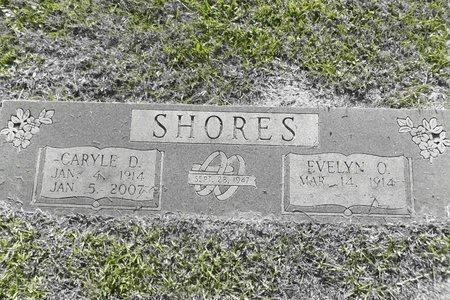 SHORES, EVELYN OLIN - Gregg County, Texas | EVELYN OLIN SHORES - Texas Gravestone Photos