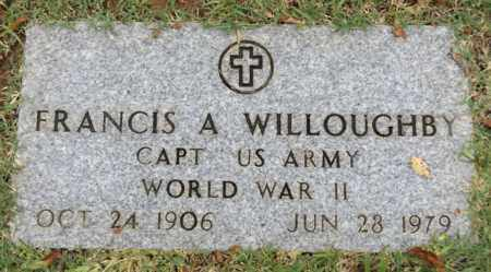 WILLOUGHBY (VETERAN WWII), FRANCIS A. - Gregg County, Texas | FRANCIS A. WILLOUGHBY (VETERAN WWII) - Texas Gravestone Photos